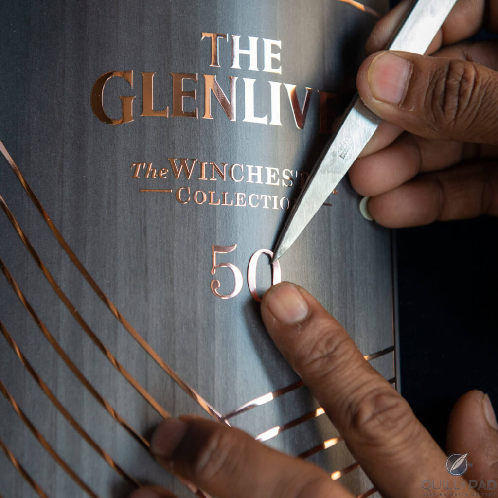 Glenlivet Winchester Collection Vintage 1967: Ultra-Rare 50-Year-Old Single Malt Scotch Whisky